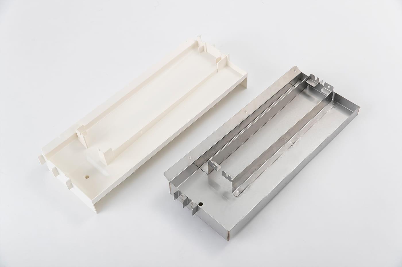 ステンレス部品を樹脂部品にリプレイス。